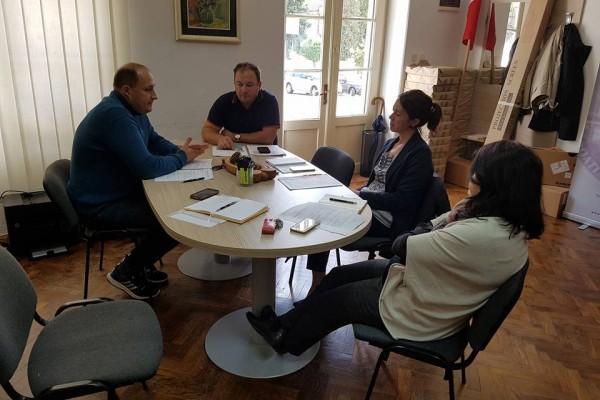 Schůze předsednictva Rady České národnostní menšiny Bjelovarsko-bilogorského županství