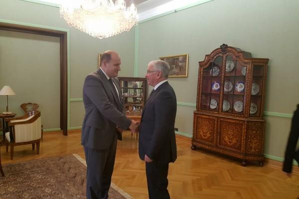 Posjet Češkog veleposlanika