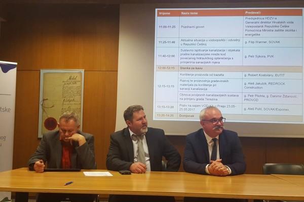 održana je prezentacija vodnokomunalnog sektora Republike Češke