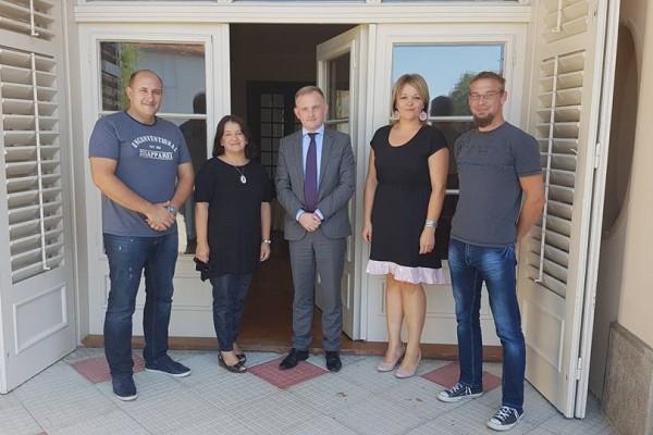 Svaz Čechů navštívil pán Miroslav Kolatek, náměstek Velvyslance České Republiky v Chorvatsku.
