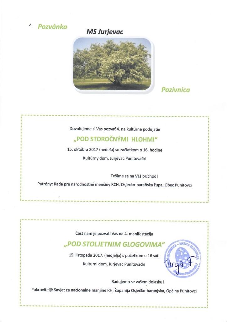 POD STOLJETNIM GLOGOVIMA @ MS Jurjevac | Jurjevac Punitovački | Osječko-baranjska županija | Hrvatska