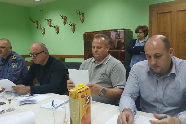 Sjednica koordinacije gradonačelnika Grada Daruvara i načelnika općina Dežanovac, Đulovac, Končanica i Sirač