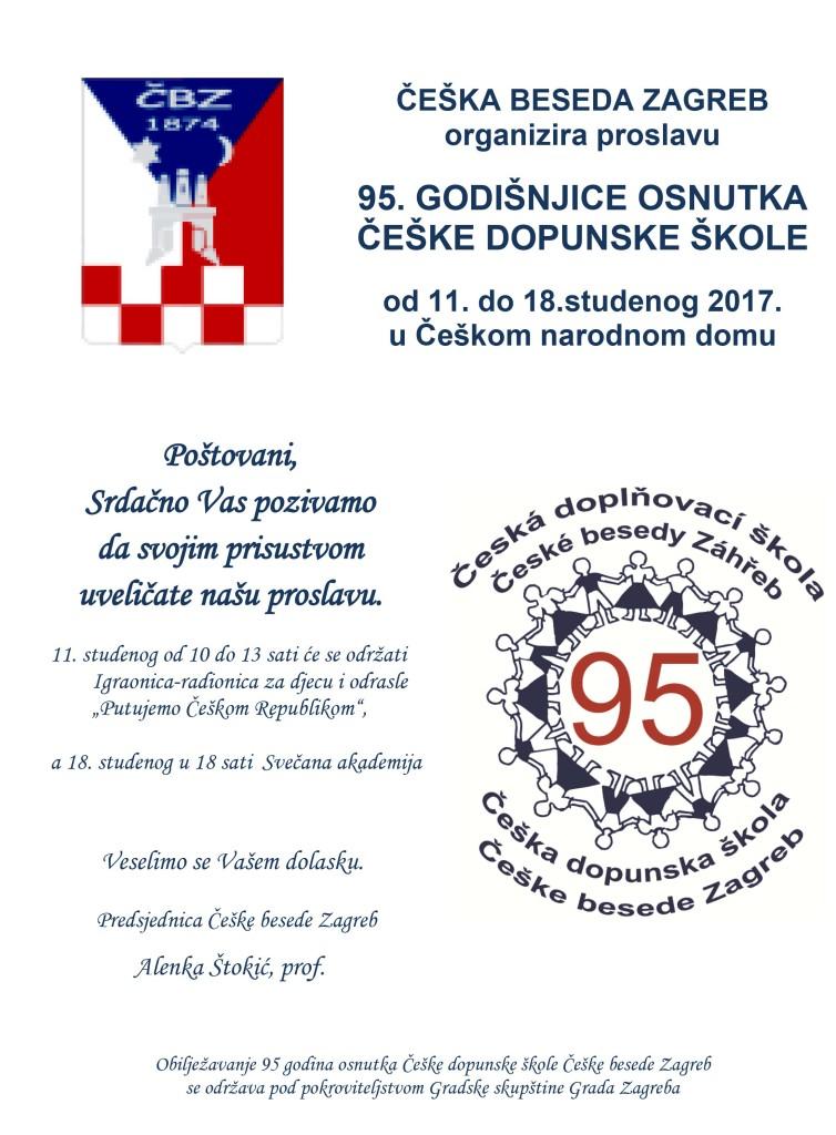 95. GODIŠNJICA OSNUTKA ČEŠKE DOPUNSKE ŠKOLE @ ČEŠKA BESEDA ZAGREB | Zagreb | Hrvatska