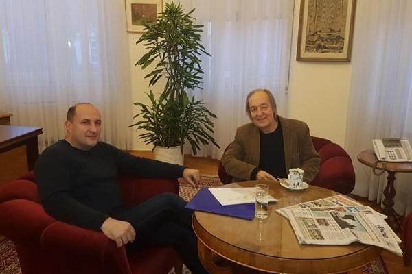 Sastanak s potpredsjednikom Hrvatskog Sabora, gospodinom Furiom Radinom