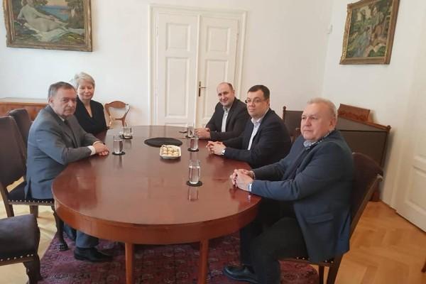 schůze v Československém ústavu zahraničním