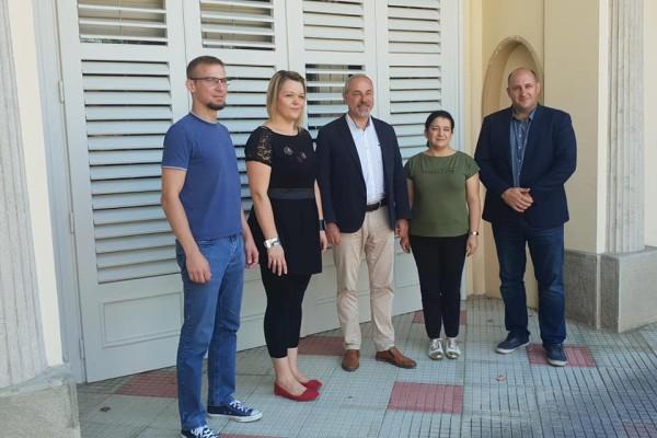 Daruvar je posjetio zastupnik Češkog Parlamenta Jiři Mihola koji je ujedno i predsjednik Međuparlamentarnog odbora za suradnju českog i hrvatskog parlamenta
