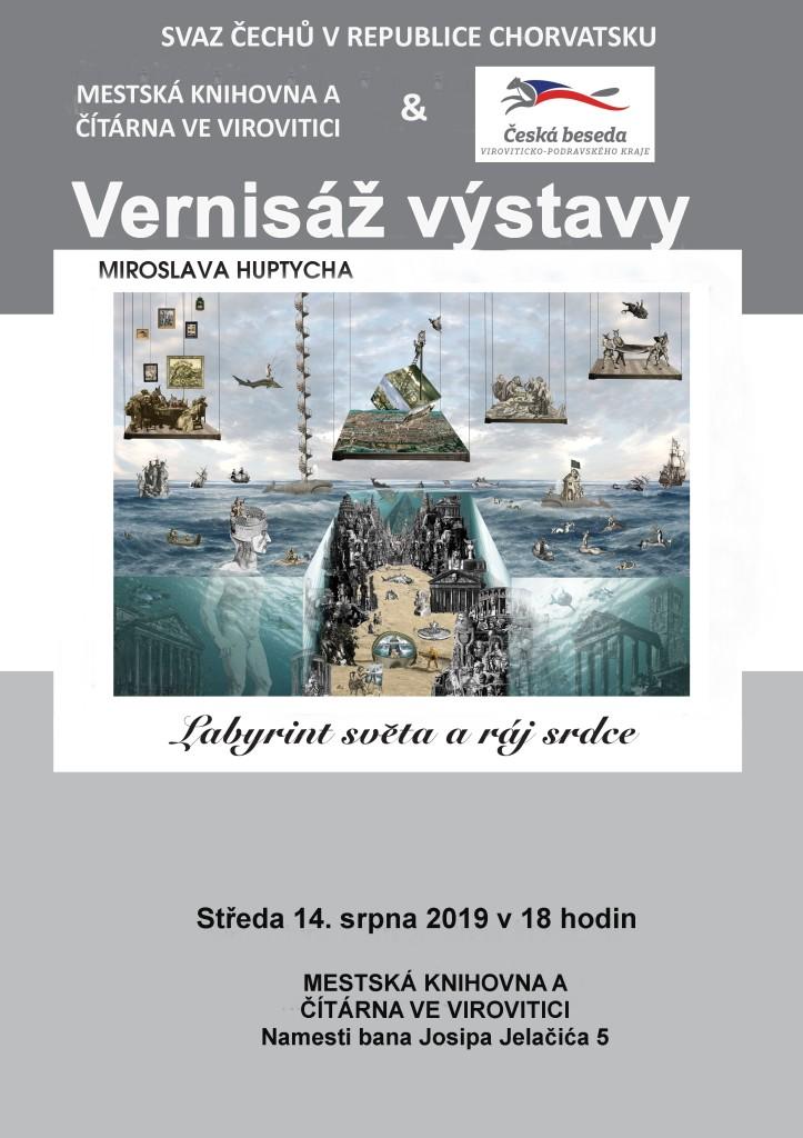 Plakat M. Huptych CZ