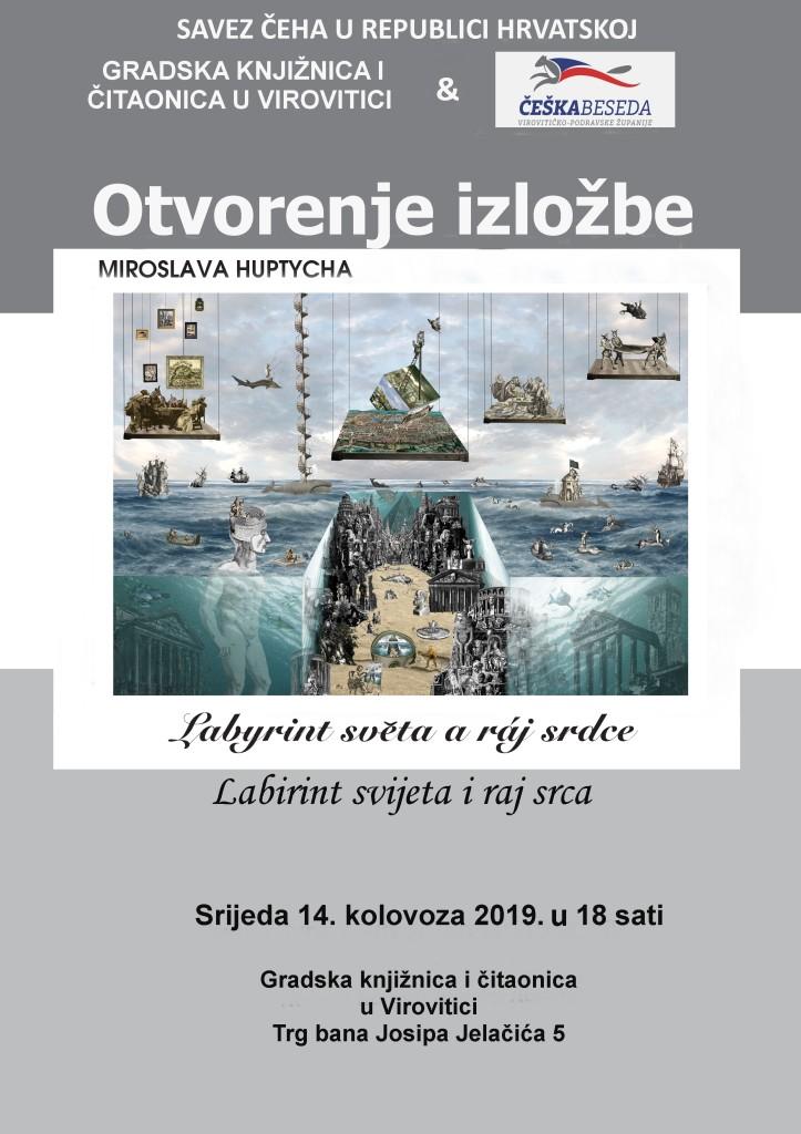 Plakat M. Huptych HR