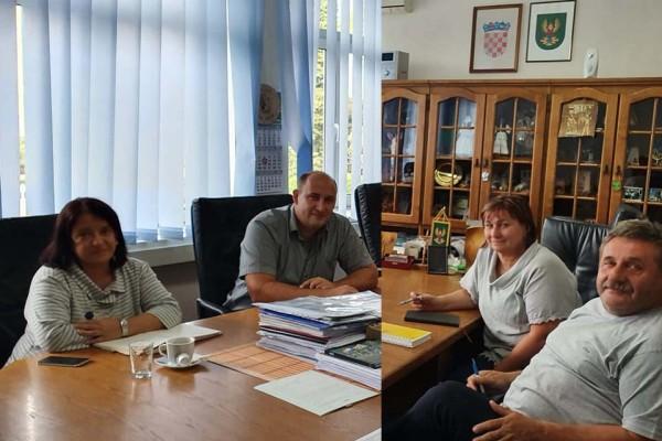 Schůze se starostou města Hrubečné Pole