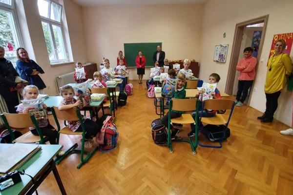 První den školy