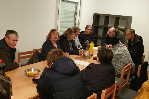 Sjednica upravnog odbora Češke besede Dežanovac