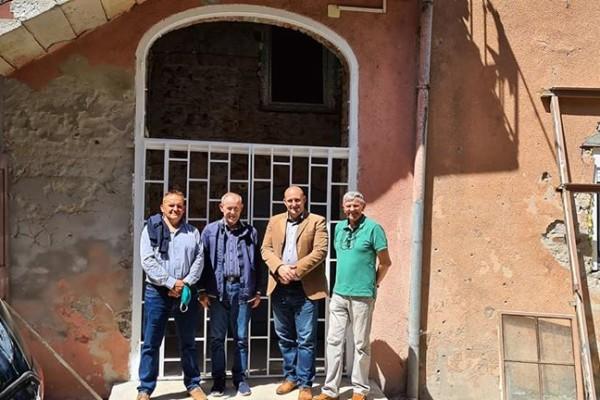 Sastanak s predsjednikom i predstavnicima Matice slovačke Osijek i obilazak radova na uređenju novih prostorija Matice