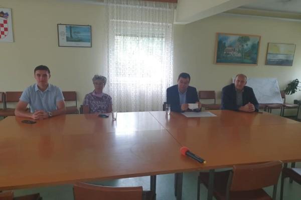 Posjet tvrtci Ribnjačarstvo Končanica zajedno sa županom BBŽ Damirom Bajsom