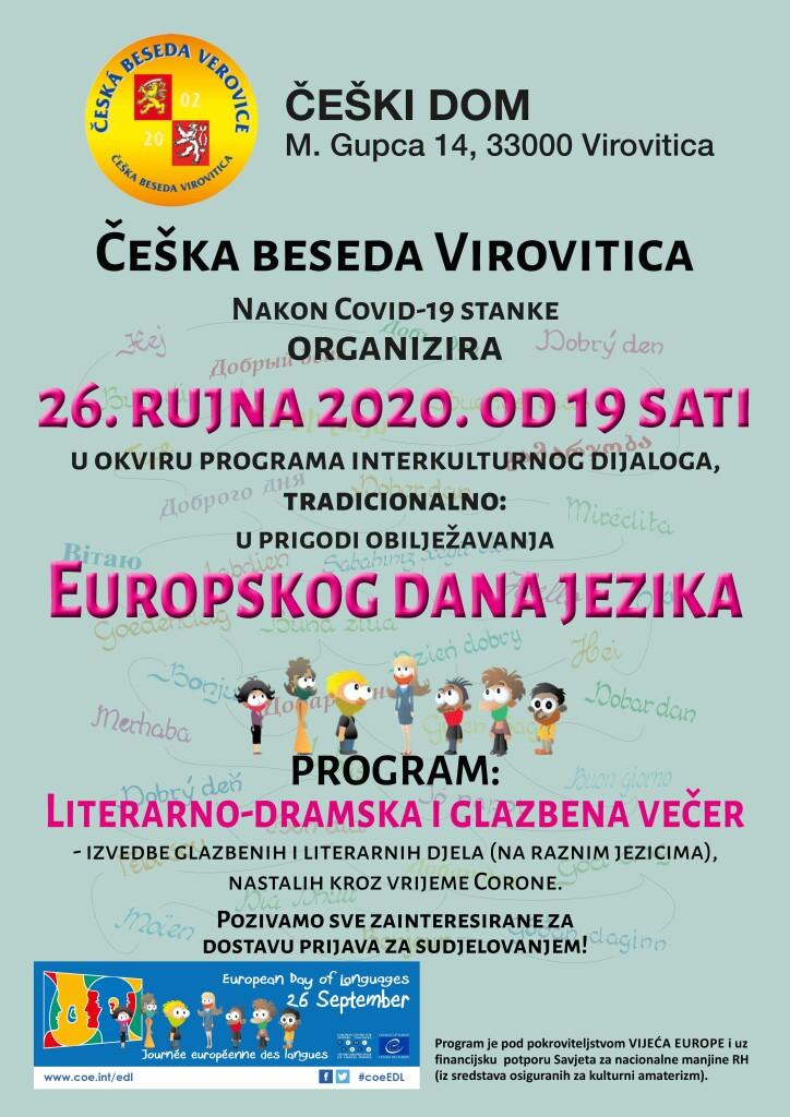 LITERARNO-DRAMSKA I GLAZBENA VEČER @ ČEŠKA BESEDA VIROVITICA
