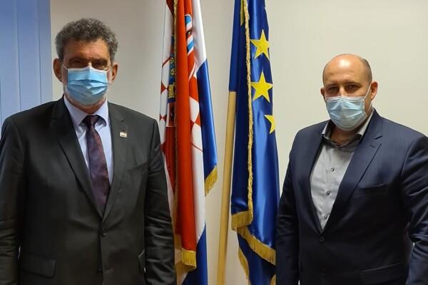Na sastanku sa gospodinom Radovanom Fuchsom, Ministrom znanosti i obrazovanja
