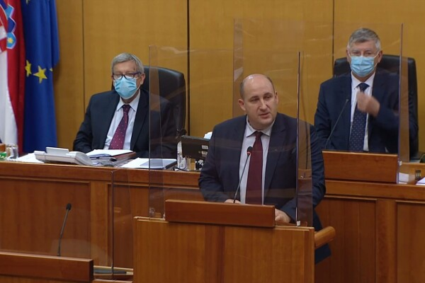 Rasprava o Prijedlogu državnog proračuna Republike Hrvatske za 2021. godinu i projekcija za 2022. i 2023. godinu