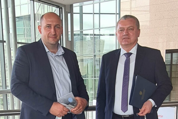 Briefing sa gospodinom Darkom Horvatom, Ministrom prostornoga uređenja, graditeljstva i državne imovine