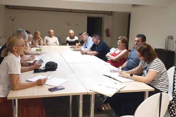 Schůze výboru, České besedy Daruvar