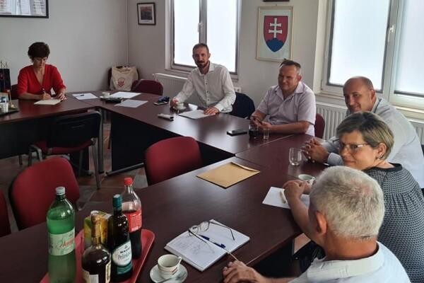 Sastanak Mgr. Milana Jána Pilipa, Predsjednika ureda za iseljene Slovake, Vlade Republike Slovačke u Savezu Slovaka