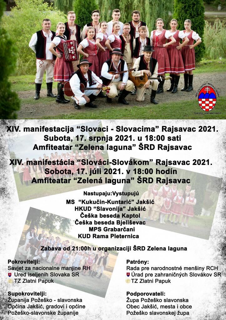 Slovaci - Slovacima Rajsavac 2021 @ ŠRD Rajsavac