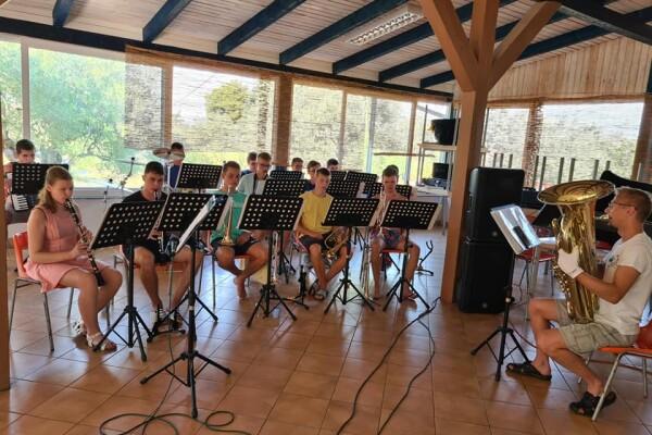 Hudební tábor Svazu Čechů v Republice Chorvátsko - Tkon 2021