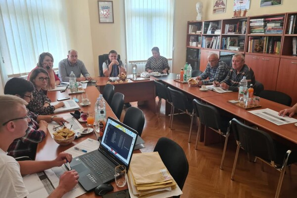 Schůze komise Svazu Čechu v Republice Chorvatsko